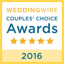 Wedding Wire 2016 Couples Choice